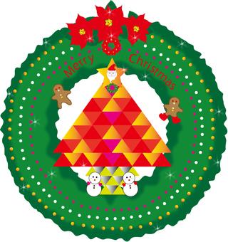 Christmas wreath (tree)