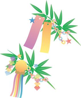 Tanabata decoration