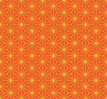 Hemp leaf pattern 2