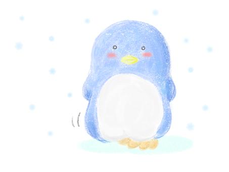 企鵝吱吱聲