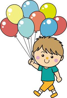 男孩15_05(步行/氣球)