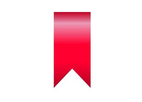 리본 (빨강)