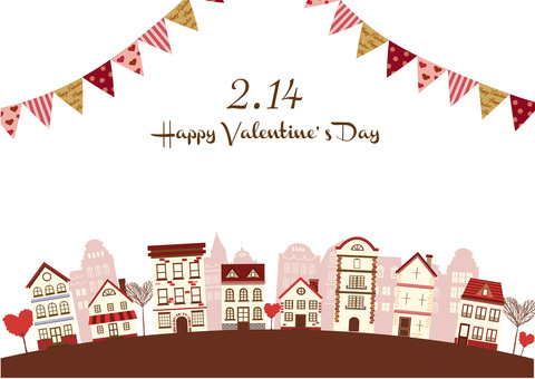 Valentine Illustration 21 Townscape