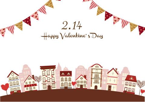 Valentine Illustration 21 Townscape