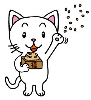 Shirokaneko-kun - bean maki