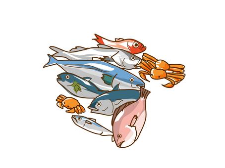 Fish fresh fish