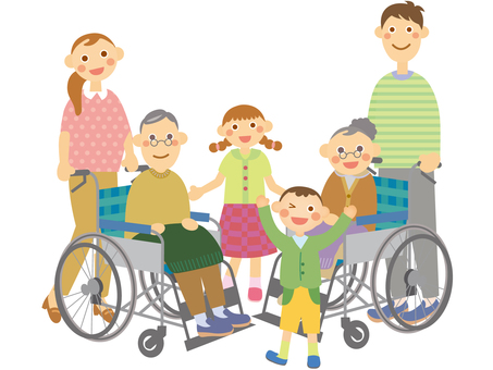 Family _ wheelchair