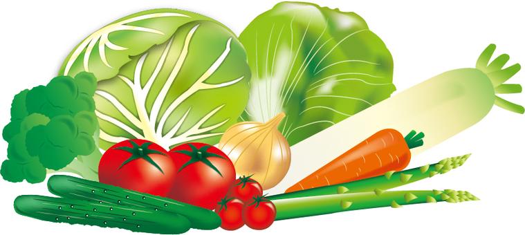 沙拉蔬菜集