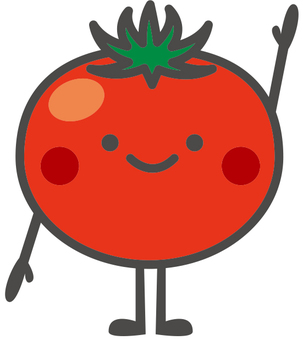Vegetable character [Tomato]