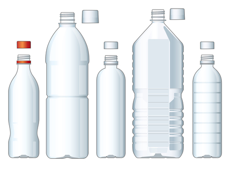 PET bottle illustration