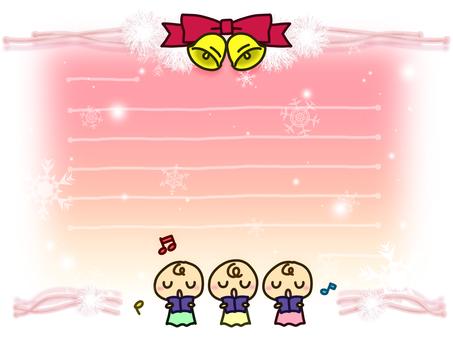 聖誕賀卡4(粉紅色