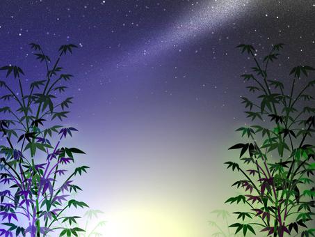 Tanabata night view