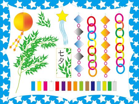 Tanabata decorations / parts