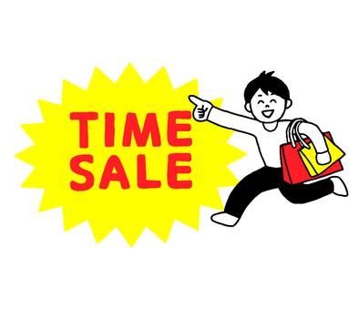 TIME SALE男性(シンプル)