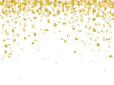 Gold ・ Gold ・ Lame Confetti