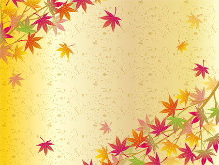 Fantastic frame of autumn leaves 04