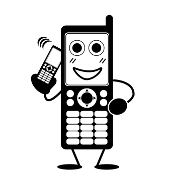 Calling on mobile phone, mobile phone