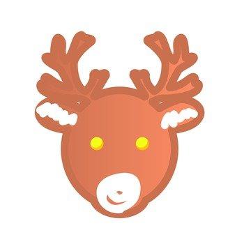 Xmas - reindeer cookie