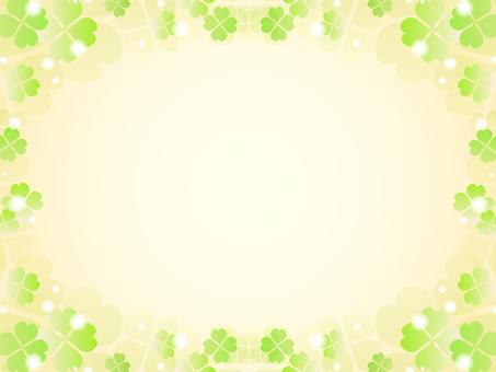 三葉草的裝飾框架6