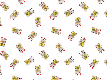 ai with inviting cat pattern / swatch
