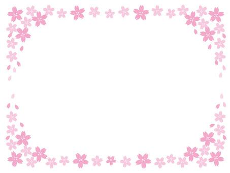 Sakura frame up and down