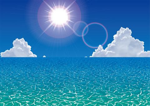 Sea Beach Summer Ice Cloud