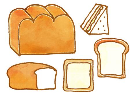 Bread (watercolor)