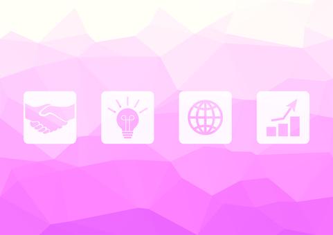 粉紅色的數字業務矢量背景材料