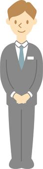 Businessman 003 (greetings)