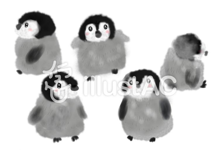 赤ちゃんペンギンイラスト No 459157無料イラストならイラストac
