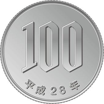 Heisei era80 year100 jpy