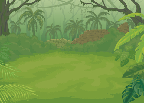 Jungle battle background