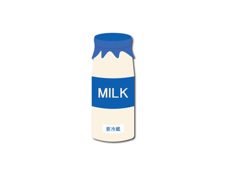 Illustration of milk