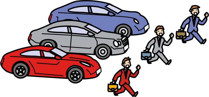 Senior car attendance