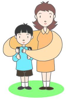 어머니와 아이 .1
