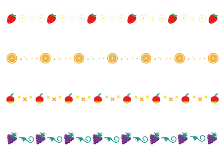 Various fruit lines
