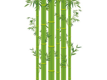 竹與竹葉_竹摳圖02