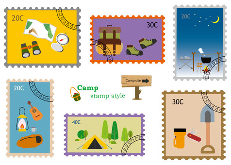 Stamp Wind Series 3 Camp