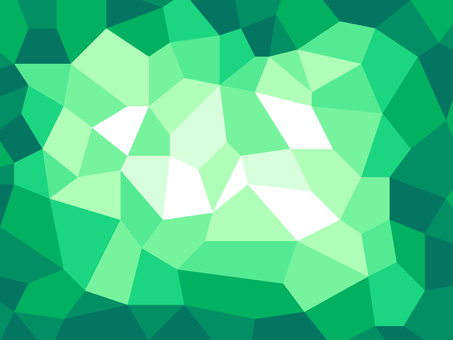 Polygonal background material / green a