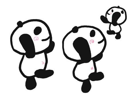 翩翩跳舞熊貓