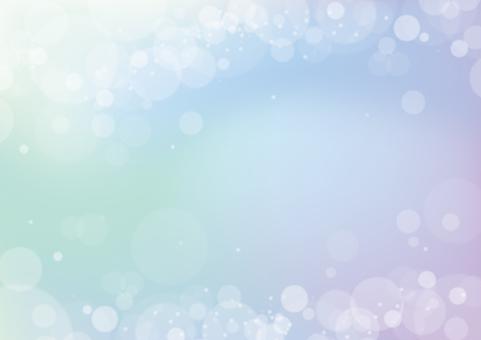 Glitter background / fantastic / message card
