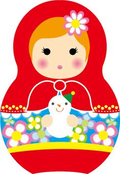 Matryoshka and Snowman