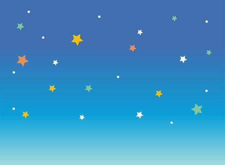 Night sky starry background