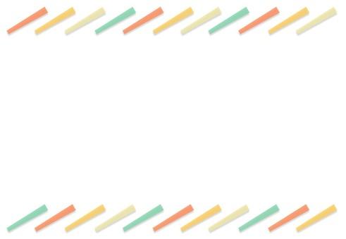 스퀘어 프레임 복고풍 컬러