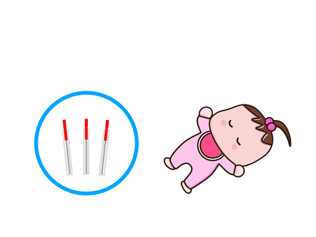 Baby and acupuncture