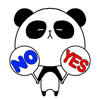 Panda YES NO
