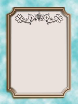 Clover frame vertical C