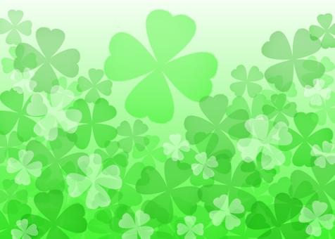Four leaf clover material