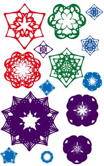 Japanese pattern motif