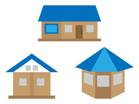 House set (blue)